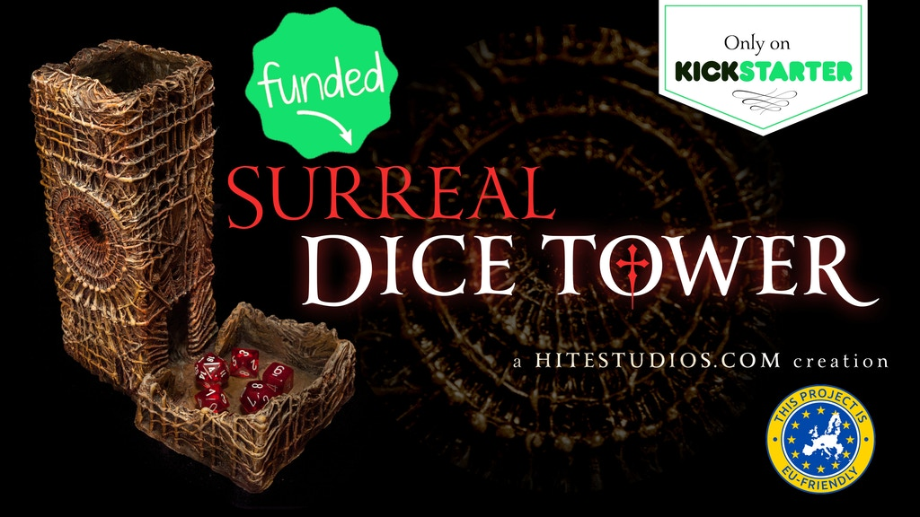 Surreal Dice Tower project video thumbnail