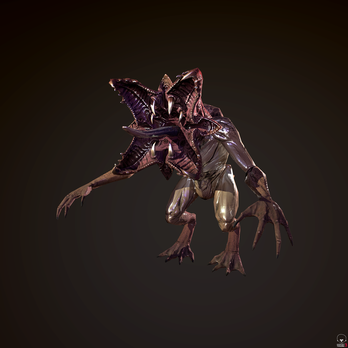 Play as the Insectum and take on the Terran Invaders.