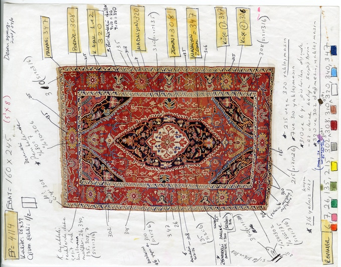 All our rugs are painstakingly designed and inspired by carpets made in the 14th to 18th centuries