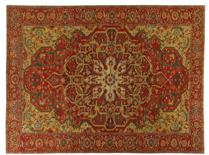 Worthy of a palace, these rugs are made of nearly 4,000,000 knots. Your selection of rugs at this reward level will employ and empower one refugee weaver for over three years