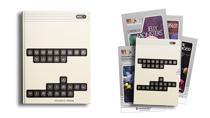 A book with high quality original pictures of the VIC 20 revisions and peripherals, and covers of all the Commodore games on cartridge.