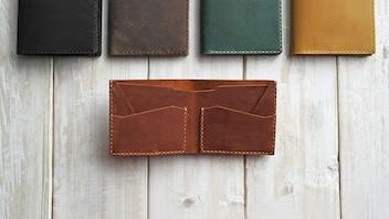 The CODA wallet - A slim, elegant minimalist leather wallet