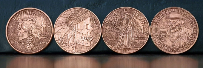 Antique Copper Stretch Goal Coins
