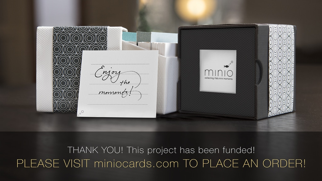 minio cards – collecting life's mini moments project video thumbnail