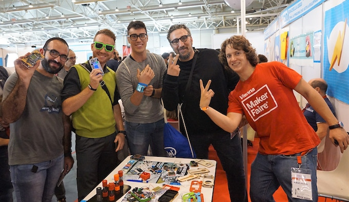 MAKERbuino at Maker Faire Rome 2016