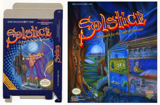 Solstice Box and Poster 1990