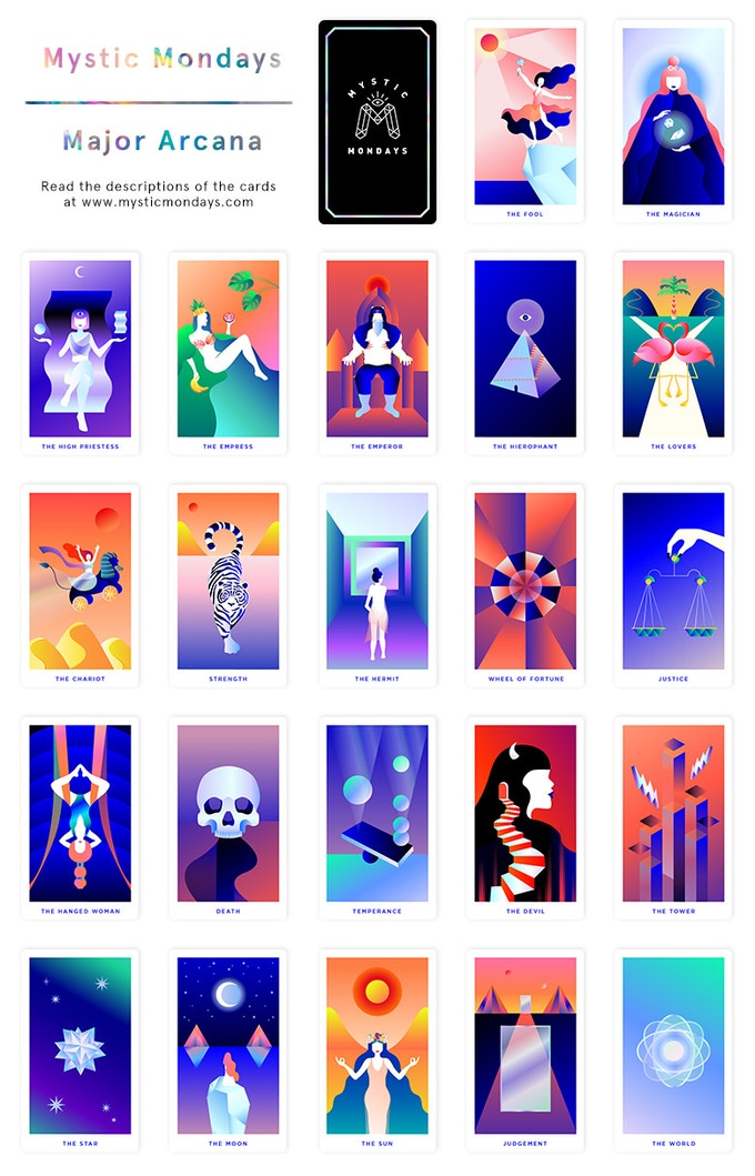 Mystic Mondays ☾ Tarot Cards By Grace Duong