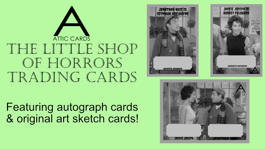 The Little Shop Of Horrors Trading Cards By Attic Card