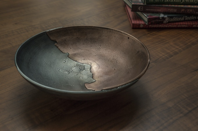 Dual Bowls | Mixed Metal Castings by Saffar — Kickstarter