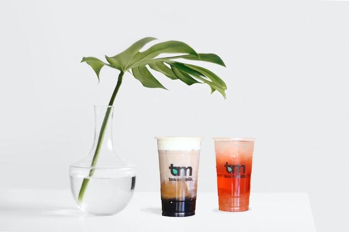 bubble tea from Tea and Milk