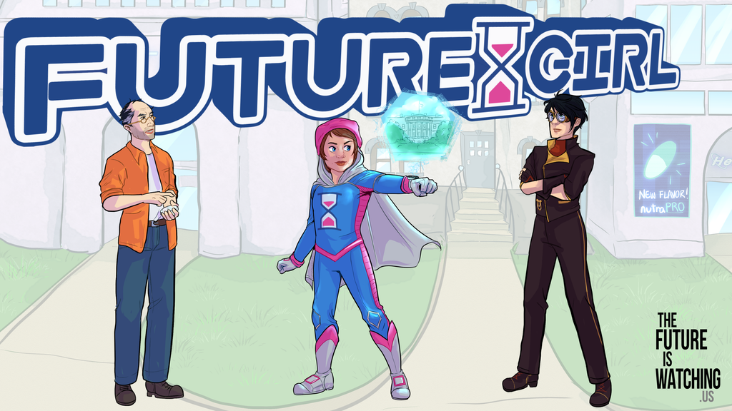 Future Girl: The Superhero from OUR Future (new comic book) project video thumbnail