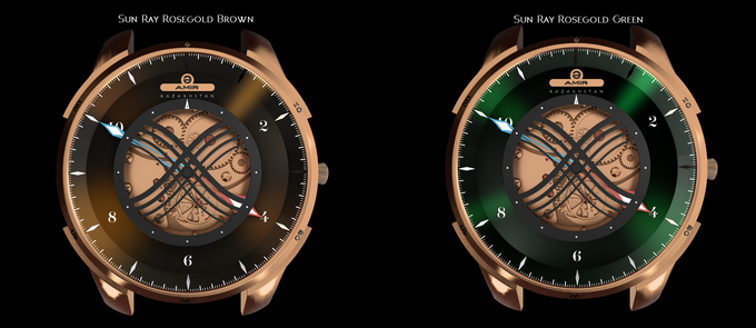 2 new colorways on Rosegold models
