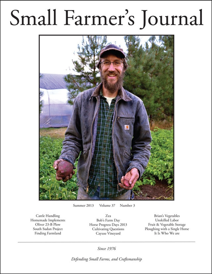 Cover of the 149th edition of Small Farmer's Journal