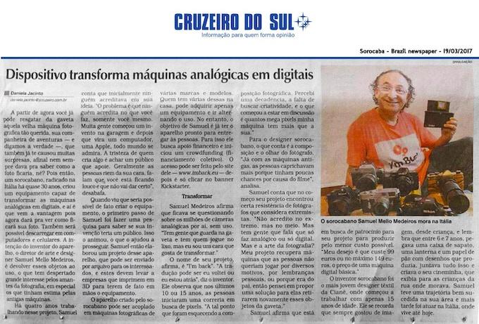 Jornal Cruzeiro do Sul - Brazil