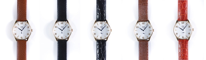 Plano, customize your timepiece strap and express your personality!