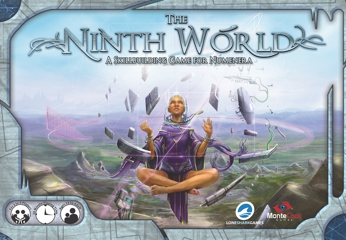 Lone Shark Games and Monte Cook Games create an epic board game of exploration and skill set in the Numenera universe.