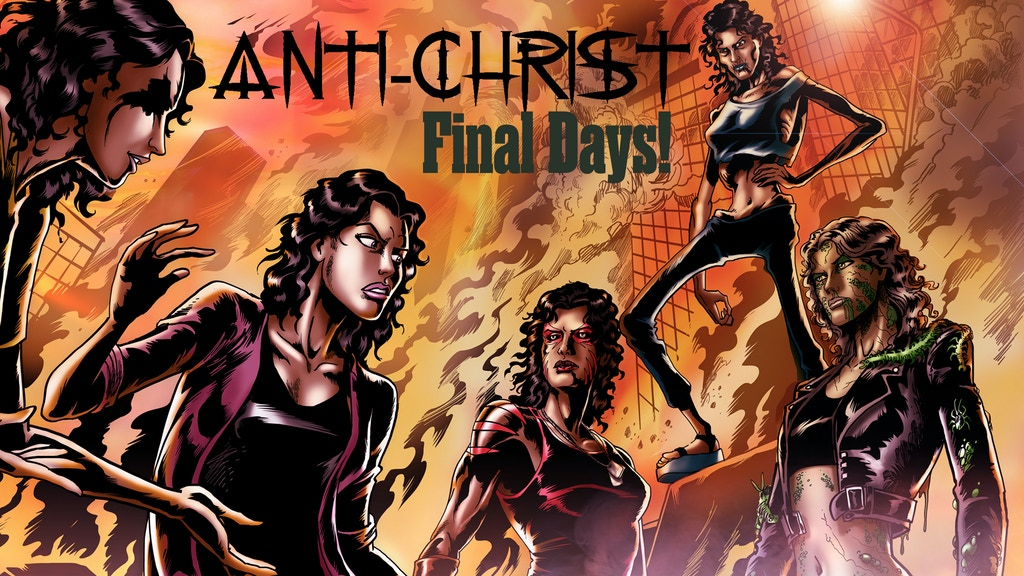 Anti-Christ - An Occult/Thriller Graphic Novel project video thumbnail