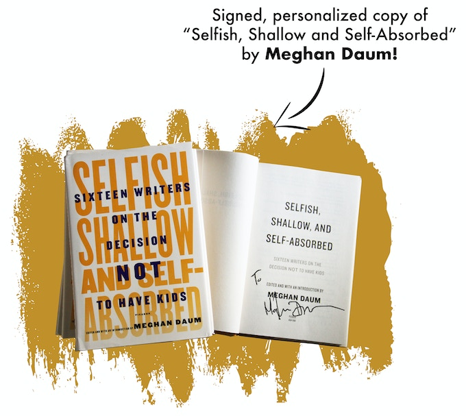 Signed, personalized copy of Meghan Daum's book!
