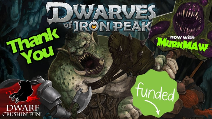 DWARVES OF IRON PEAK is a tactical board game for 2-4 players where a squad of courageous Dwarves battle Vile creatures that endanger their home and kin!