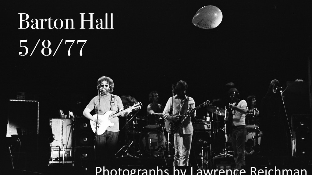 Barton Hall 5/8/77 Photos of Legendary Grateful Dead Concert project video thumbnail