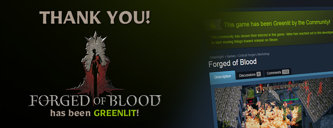 We have been GREENLIT!