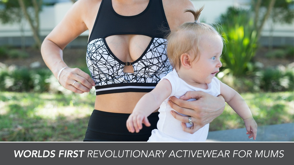 Revolutionary Activewear For Pregnancy, Nursing and Beyond project video thumbnail