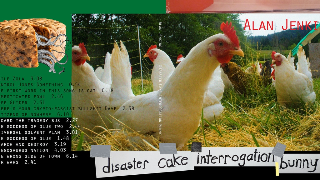 Disaster Cake Interrogation Bunny project video thumbnail