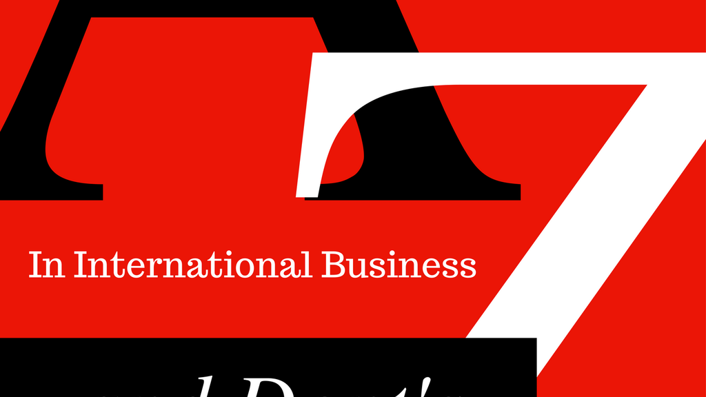 From A to Z; The Do's and Dont's in International Business