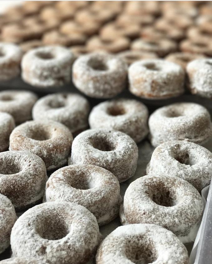Mini Carnival Donuts