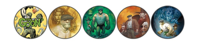 The Goon™ RPG Bennies! The first image shown is the back side of the following four images.