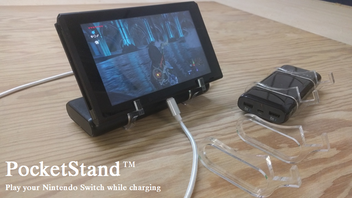 PocketStand: A portable play stand for Nintendo Switch