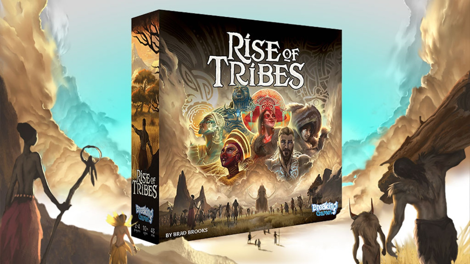 Rise of tribes by breaking games kickstarter lead your prehistoric tribe to victory through discovery achievements civilization and overcoming the odds gumiabroncs Image collections