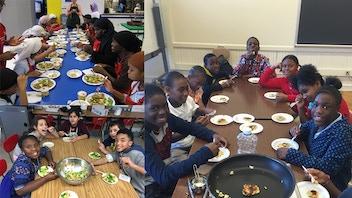 FoodRight's Youth Chef Academy Program