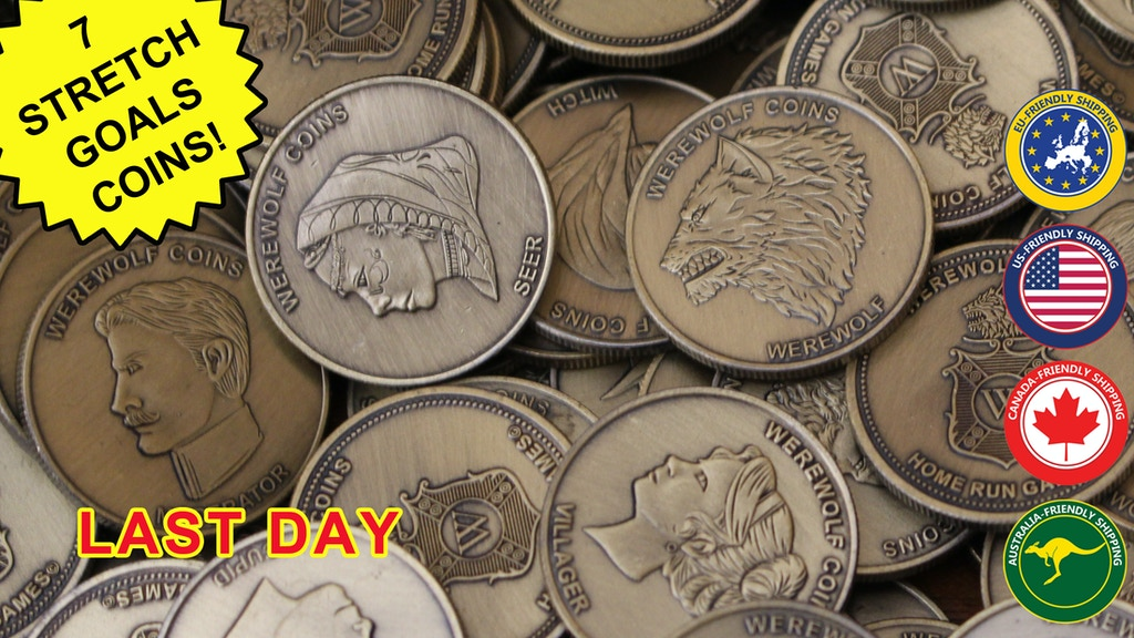 WEREWOLF COINS project video thumbnail