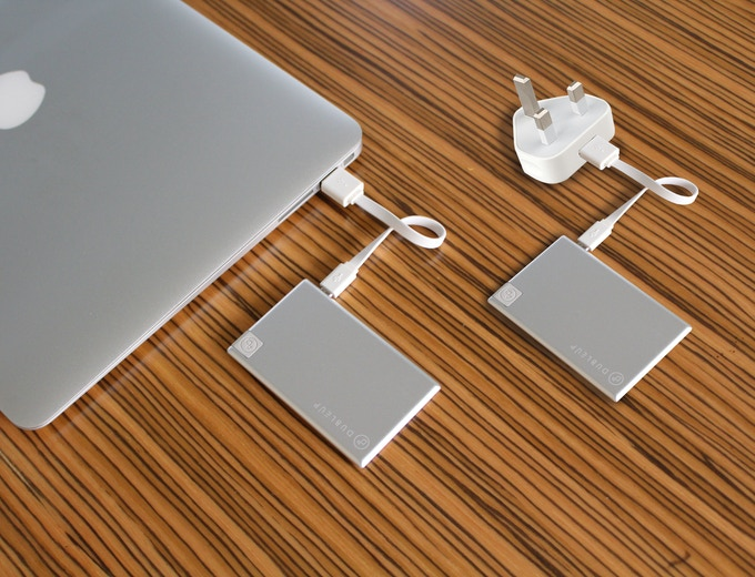 Two Methods to Charge Your Dubleup Power Bank