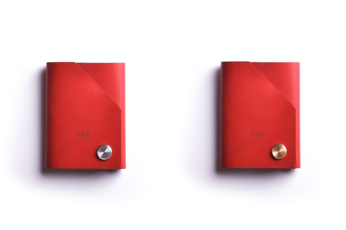 Chilli leather, brass or stainless steel CNC fastener top