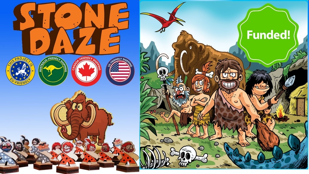 Stone Daze - strategy board game to watch (your head) for project video thumbnail