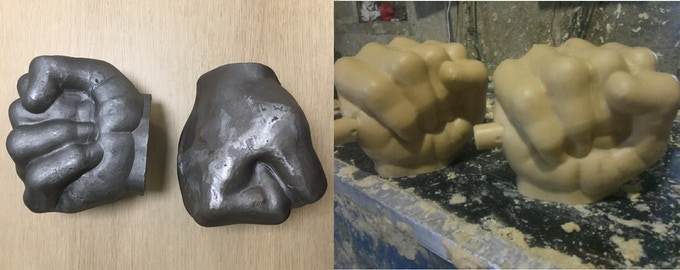 First Sample/Wax Mold