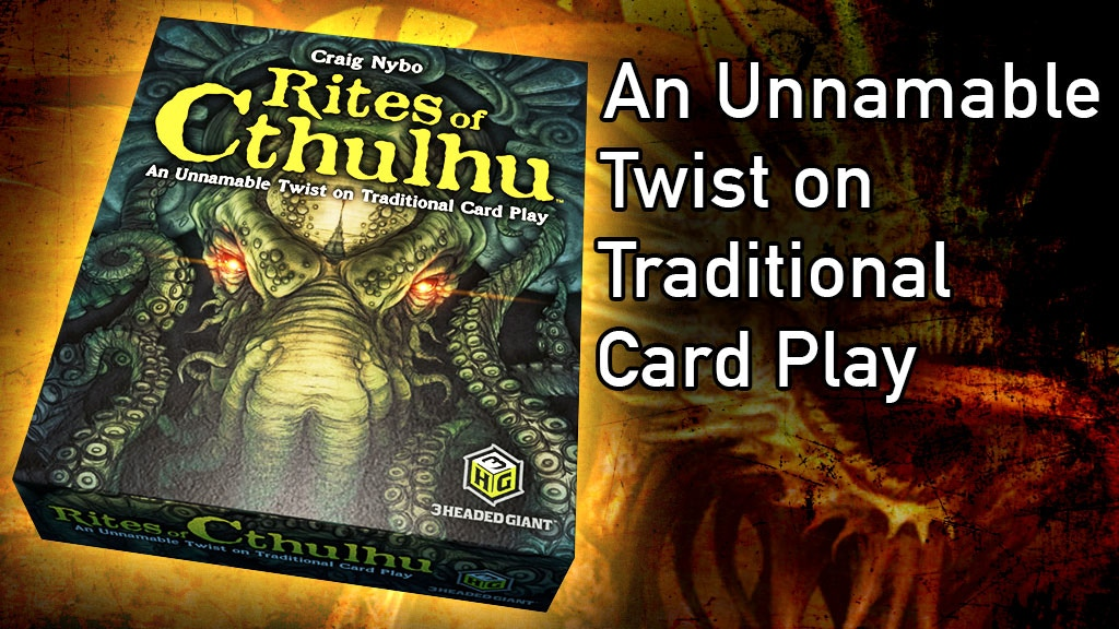 Rites of Cthulhu - The Card Game project video thumbnail