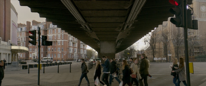 Still from one of our test shoots using Cooke Anamorphic lenses.