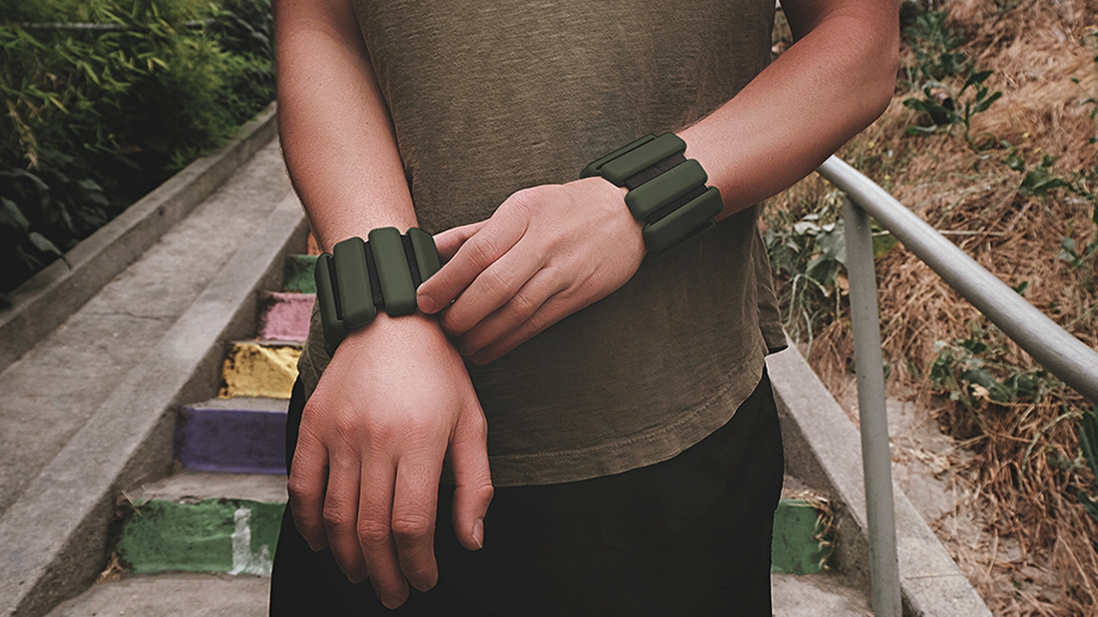 Increase heart-rate, burn fat, and build muscle. Designed for yoga, running, cycling, hiking, you name it. A perfect travel companion.
