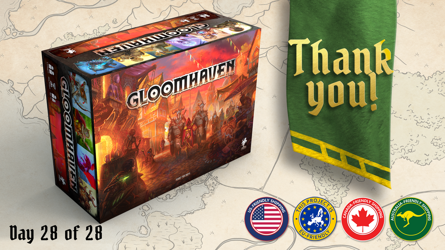 Gloomhaven Second Printing By Isaac Childres Kickstarter Central Circuit Board Part No 10 Singapore Hobby Supplies Pte Ltd