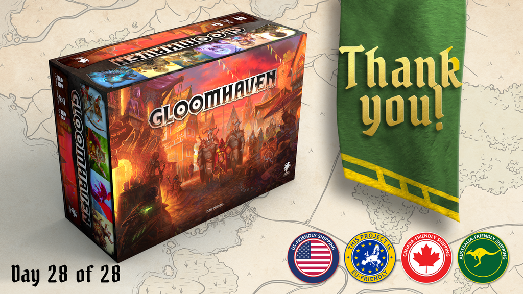 Gloomhaven (Second Printing) project video thumbnail