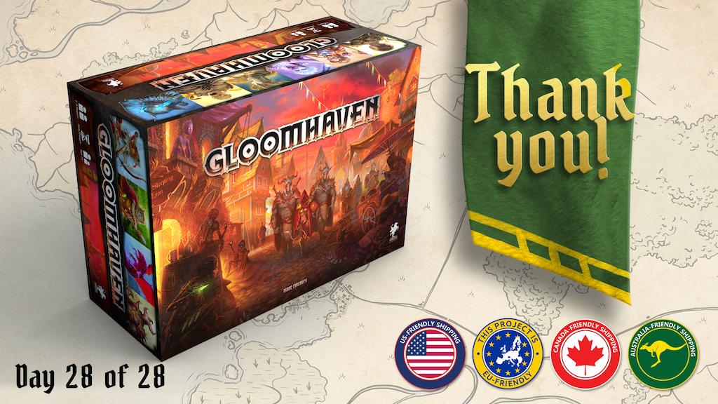 Miniature de la vidéo du projet Gloomhaven (Second Printing)