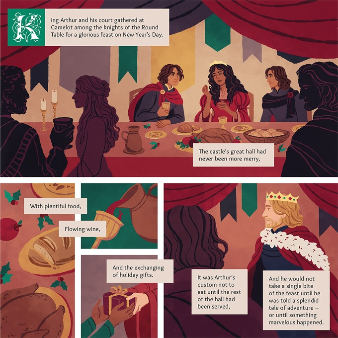 Gawain and the Green Knight by Emily Cheeseman — Kickstarter