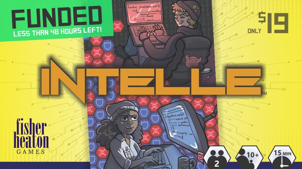 INTELLE - Hack or Be Hacked project video thumbnail