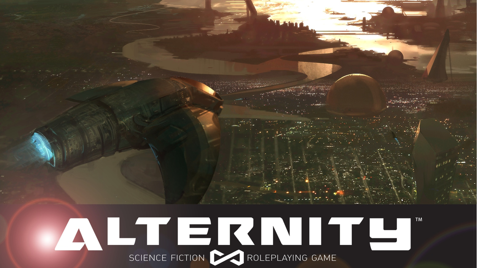 A modular Science Fiction Tabletop Roleplaying game limited only by your imagination. Choose your future!