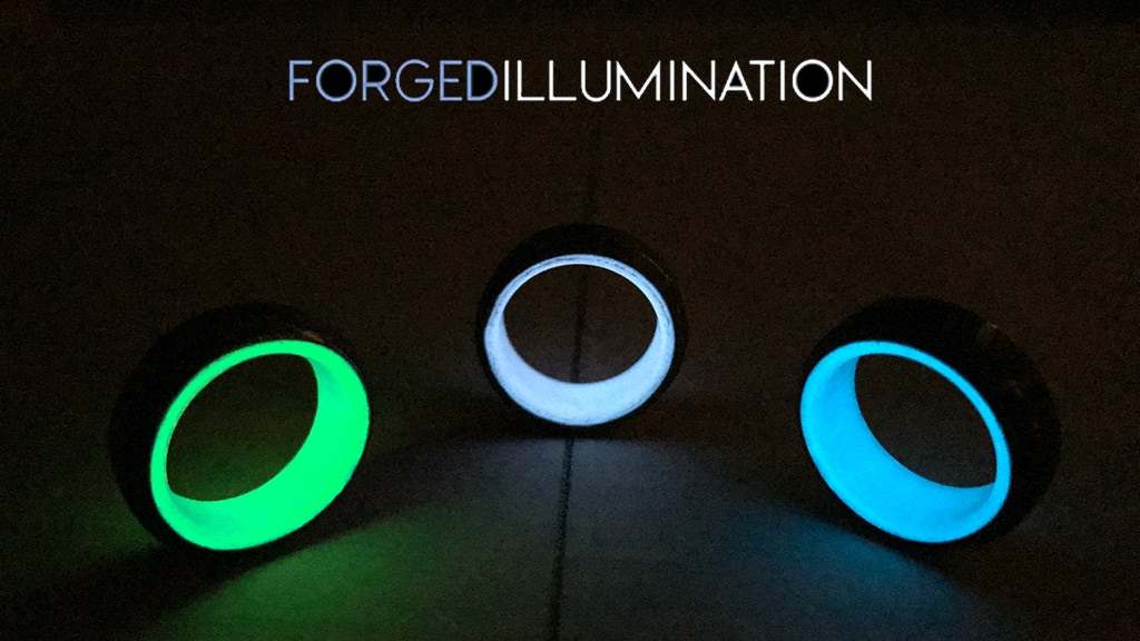 Forged Illumination | Damascus Steel Glow Rings project video thumbnail