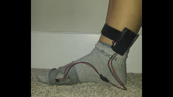 Sock that counts your steps