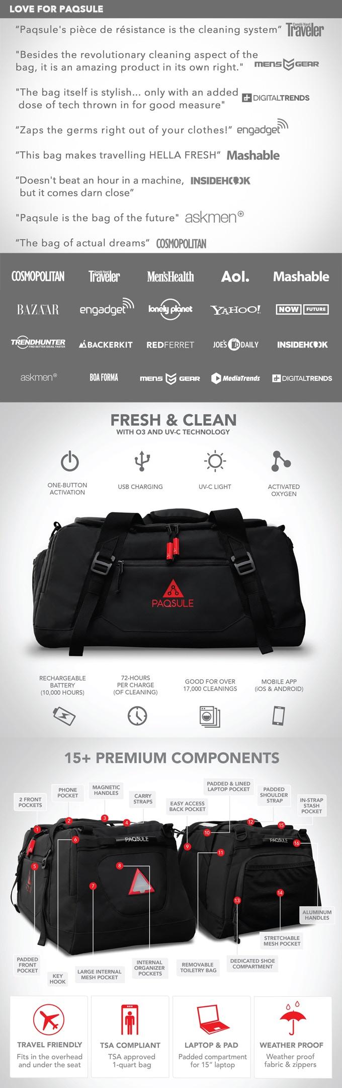 Ozone gym bag